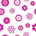 Stock Illustration of flower seamless pattern