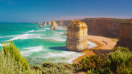 Stock Video Footage of 4k timelapse video of Twelve Apostles in Australia