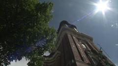 St Michaels' church, Hamburg Stock Footage
