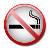 sign no smoking 2d - stock illustration
