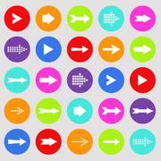 Stock Illustration of colorful arrows illustration