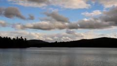 Adirondacks Loon Lake -HD Time Lapse Peaceful Stock Footage