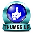 Stock Illustration of thumbs up