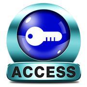 access icon - stock illustration