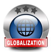 globalization - stock illustration