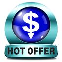 Stock Illustration of hot offer