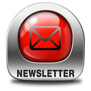 Newsletter icon Stock Illustration