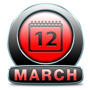 march - stock illustration
