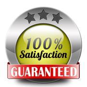 customer satisfaction - stock illustration