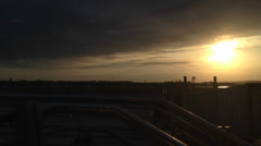 Sunset Terminal Stock Footage