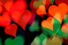 happy valentines day - stock illustration
