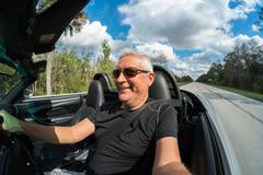 Man driving Stock Photos