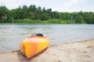 Stock Photo of River Kayak