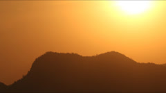 Sunsetonthemountain HD Stock Footage