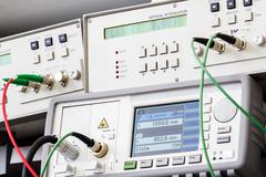 professional modern test equipment - stock photo