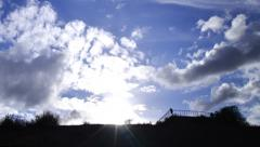 Stock Video Footage of 4K Timelapse Clouds 40 Blue Sky