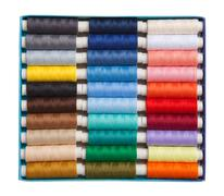 Colored threads Stock Photos