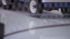 Zamboni Machine - Ice Rink Cleaning - 05 Stock Footage