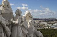Stock Photo of praying.cerro de los angeles is located in the municipality of getafe, madrid