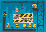 Stock Illustration of Under Construction