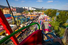 urfahraner fair in linz, austria - stock photo