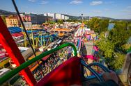 Stock Photo of urfahraner fair in linz, austria
