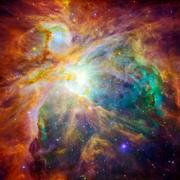 The cosmic cloud called Orion Nebula - stock photo