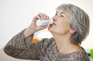 Stock Photo of elderly person, dairy product