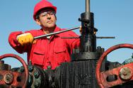 Stock Photo of Jobs With the Oil and Gas Industry