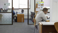 Stock Video Footage of students workstations 2