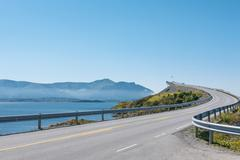 Stock Photo of Atlantic Road in Norway