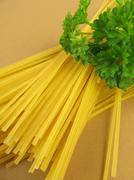 Gluten-free spaghetti - stock photo