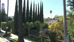 Beverly Hills. Hollywood tour, LA Stock Footage