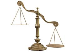 Stock Illustration of inequality scales
