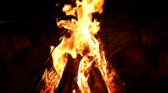Bonfire - Slow Motion 200fps Vol2 - stock footage