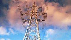 Transmission Tower Electricity Pylon #5 Stock Photos