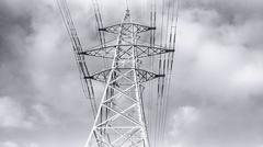 Stock Photo of Transmission Tower Electricity Pylon #2