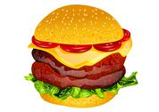 Stock Illustration of burger