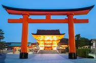 Stock Photo of fushimi inari shrine