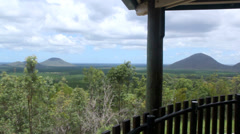 Glasshouse Lookout Stock Footage