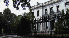 The Armstrong Mansion - Savannah, Georgia Stock Footage