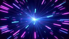 Neon Explosion - stock footage