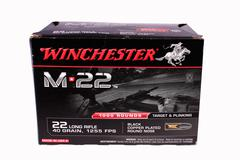 Winchester ammunition Stock Photos
