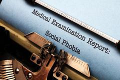 Social phobia Stock Photos
