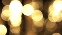 Bokeh Made in Camera Stock Footage