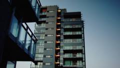 Apartments Reykjavik - stock footage