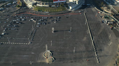 Aerial view American Football Stadium, San Francisco, USA Stock Footage
