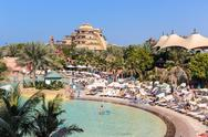 Stock Photo of aquaventure waterpark of atlantis the palm hotel