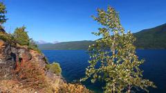 Lake McDonald Glacier National Park Stock Footage