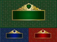 Elegant banner Stock Illustration